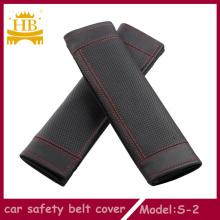 Couvertures de ceinture de fibres en cuir voiture