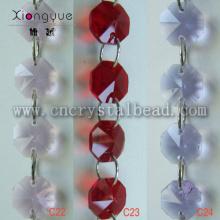 DL10 Crystal Octagon Bead