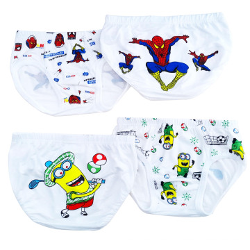 Cute Cartoon Printed Kids Thong Underwear Boys Underpants Children Underwear Kids Wear