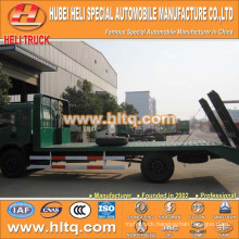 DONGFENG brand 120hp 6-7tons 4X2 flat plate truck best selling for exported in Africa.