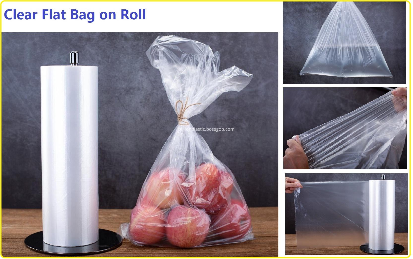 Clear Roll Bag
