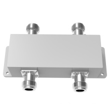 2700-6000MHz IP65 N Female 2in 2out Hybrid Coupler / 2: 2 Combiner