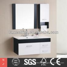Classical PVC Gloss European/ Middle East Hotel Bathroom Cabinets European