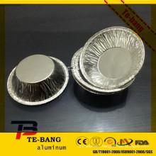 Airline mini silver disposable aluminum cup
