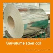 Bobines de haute qualité acier Galvalume 2013, Alu-zinc