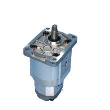 pompe à engrenages externe à double pompe à béton