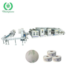 Automatic Band Saw Toilet Roll Maxi Roll Production Line Maxi Jumbo Tissue Machine