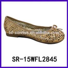 Zapatos chinos baratos de los zapatos del chino de la mary jane de la muchacha 2015