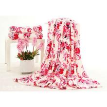 Confiable Coral Manta De Lana Blankets