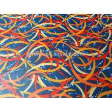 Förderung Afrikanisches preiswertes Polyester-Wachs-Material Nigerian Druckgewebe-Brokat-Groß- und Kleinhandel-Qualität