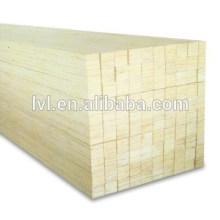 E2 cola laminado folheado madeira Poplar LVL para porta núcleo