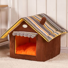 Removable Cover Mat Dog House Dog Beds