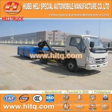 4X2 FOTON FORLAND camión de basura roll-off de la marca 4.5m3 98hp nuevo precio de fábrica de la alta calidad del estilo