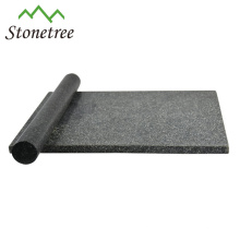 Black granite chopping board with rolling pin