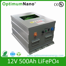 Un38.3 12V 500ah LiFePO4 Solar Battery with Smart BMS