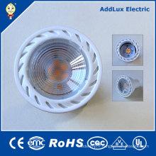 Creative COB Chip Gu5.3 5W chaud blanc LED Spotlight