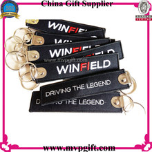 Customized Lanyard Key Chain with Embroidery Logo