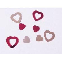 Love heart glitter confetti