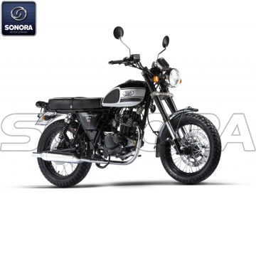 MASH SEVENTY FIVE 125 cc Black Body Kit Engine Parts Original Spare Parts