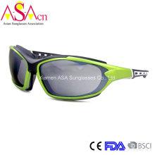 Fashion Designer UV400 Защита ПК Мужские спортивные солнцезащитные очки (14371)
