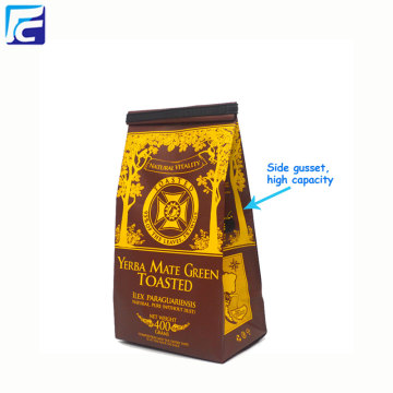 Custom Design Moisture Proof Aluminium Foil Coffee Bags