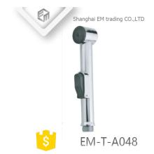 Accesorio para baño EM-T-A048 Asiento cromado para ducha ABS Bidé Shattaf