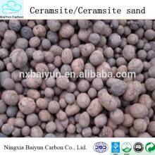 Water Treatment Materials 2-4mm Natural Ceramsite / Ceramsite Sand