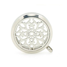 Trendy aromatherapy locket pendant,solid perfume container scent lockets