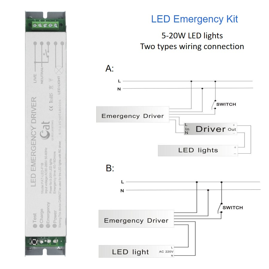 T5 Emergency Lighting Module
