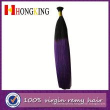 Virgin Brazilian And Peruvian Hair Bulk For USA Market