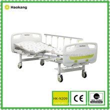 HK-N209 Cama de hospital manual de dos funciones (equipo médico, muebles del hospital)