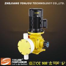 Bomba dosificadora hidráulica del mecánico del diafragma operado eléctrico químico Dz-X