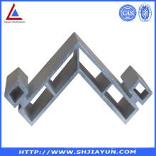 Soporte de esquina de aluminio anodizado y montaje de aluminio