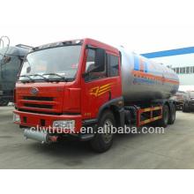 Factory Supply FAW 6*4 lpg trucks for sale in Ghana