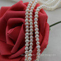 Small Size 3mm Natural off Round Shape Freshwater Pearl Beads