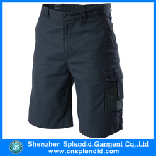 China Wholesale 100%Cotton Men′s Cargo Short Pants for Worker