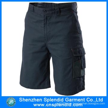 China Wholesale 100%Cotton Men′s Cargo Short Pants for Worker