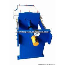 Kleine manuelle hydraulische Platten- und Rahmenfilterpresse, Plattenrahmen-Filterpresse von der Leo-Filterpresse