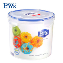 Manufacturer waterproof airtight clear plastic cookie jar