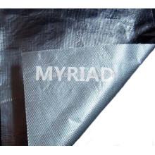 Papel de aluminio de la parte posterior de la fibra de vidrio, material reflectante y de plata de la cubierta Material laminado de aluminio revestido