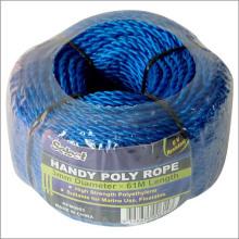 Corde Mini Bobine Poly Bleu Matériel DIY 3mm * 61m
