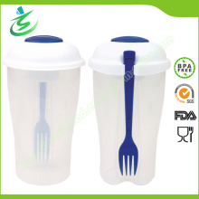 BPA Free Salad Shaker, Fruit and Salad Container