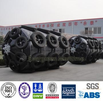 Amortisseur rempli de mousse marine d'amortisseur de fabricant de la Chine