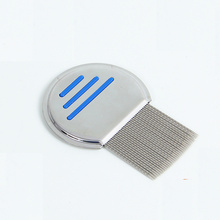 Stainless Steel New Pet Lice Comb