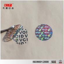 Adesivos de holograma personalizado para impressão de logotipo com certificado IHMA