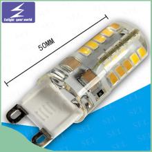 Hochwertiges 220V G9 Silikon LED Birnenlicht