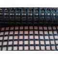 Géogrille de fibre de verre revêtue d'asphalte biaxiale