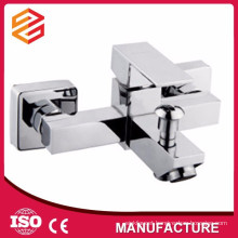 zinc bathtub mixer square side mounted bathtub faucet