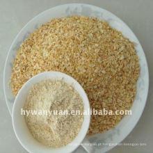preço de fábrica tempero grânulos de alho picado
