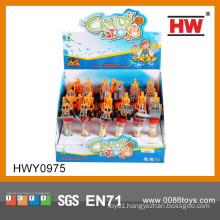 Cheap Promotional Toy Truck Plastic Candy Toys For Kids